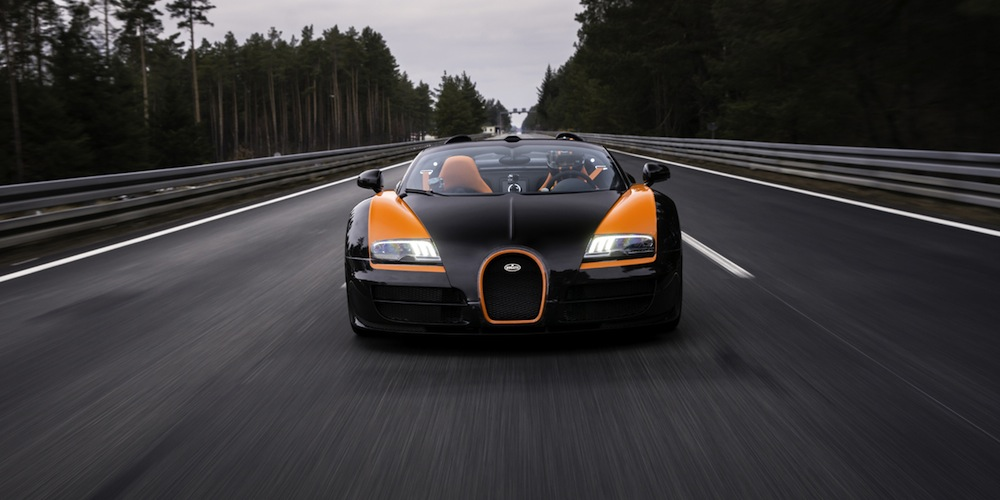 Bugatti Cop Cars >> Bugatti Veyron Grand Sport Vitesse Sets World Record for Fastest Open-Top Car | Highsnobiety