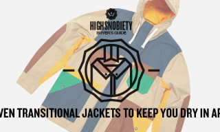 Buyer's Guide: Seven Transitional Jackets To Keep You Dry In April