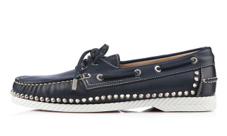 Christian Louboutin Gives the Boat Shoe the Stud Treatment