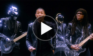 Daft Punk, Pharrell & Nile Rodgers Star in the Latest 'Random Access Memories' Ad