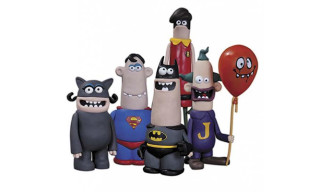 DC Nation Aardman Action Figure 5-Pack