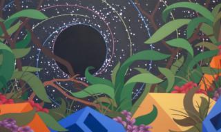 Eske Kath 'Blackboard Sunset' – Illusions Based on a Grid of Natural Laws