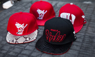Feature LV x Genesis Project UNLV Python Strapback Capsule Collection