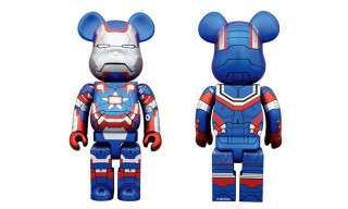 Iron Man 3 x Medicom Toy Iron Patriot 400% Bearbrick