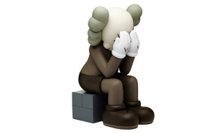 KAWS Passing Through Companion in Brown
