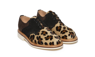 Bodega x Mark McNairy Leopard Saddle Derby and Country Brogue Boots