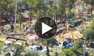 "Watch ""Miniature Melbourne"" – An Amazing Tilt Shift Time Lapse Video"