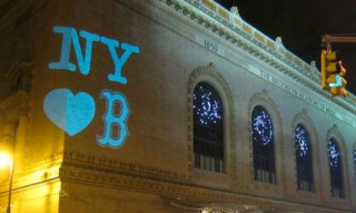The Brooklyn Academy of Music Serves as a Canvas for New York's Support of Boston in Wake of Bombing