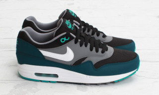 Nike Air Max 1 Essential Black-Mid Turquoise