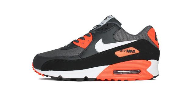 nike air max 90 grey orange