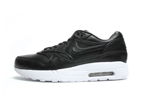 air max 1 black leather