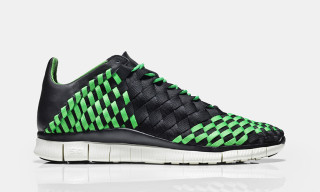 Nike Free Inneva Woven Black/Poison Green