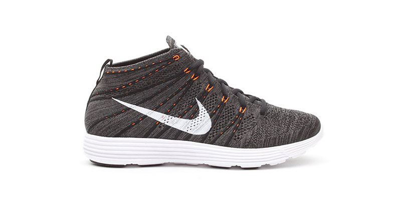Nike Lunar Flyknit Chukka Midnight Fog Total Orange