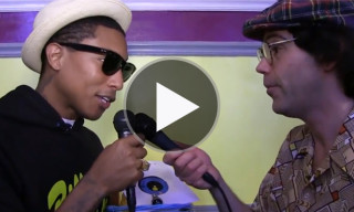 Pharrell Turns the Tables & Interviews Nardwuar