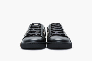 studded low-top sneakers - Black Saint Laurent MQS1Q