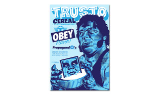 Shepard Fairey x TrustoCorp Cereal Boxes to Hit LA Grocery Stores This Week