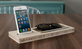 Store Your iPhone, Keys, Sunglasses and More with STATION