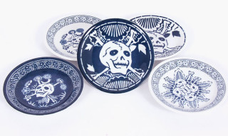 Tadanori Yokoo 'Skull Plates' for Someday Store pt.II