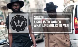 Weekly Outfit: A Suit Is To Women What Lingerie Is To Men