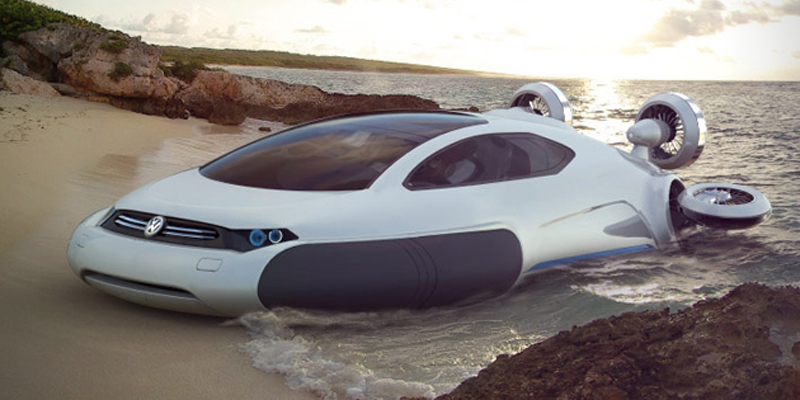 Volkswagen Aqua Hovercraft Concept by Yuhan Zhang   Highsnobiety