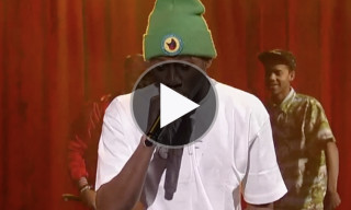 "Watch Tyler, The Creator, Domo Genesis, and Earl Sweatshirt Perform ""Rusty"" on Letterman"