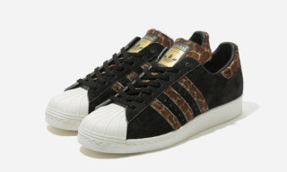 "XLARGE x adidas Originals Superstar 80s ""Giraffe"""