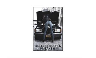 Gisele Bündchen for BLK DNM Campaign by Johan Lindeberg