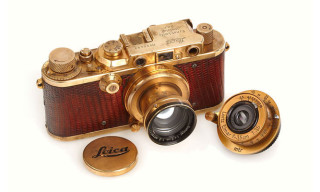 Gold-Plated Luxury 1931 Leica Camera Auctioned for $683,000