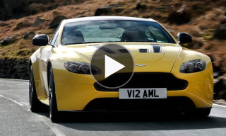 A First Look at the Aston Martin V12 Vantage S