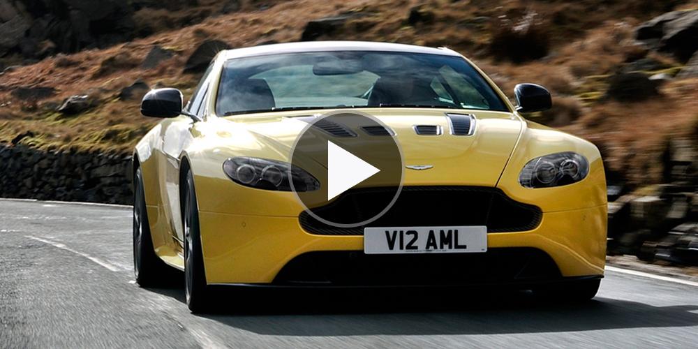 Aston Martin V12 Vantage S in Motion • Highsnobiety