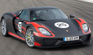 A First Look at the Porsche 918 Spyder