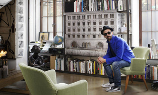 A Look Inside JR's New York City Studio