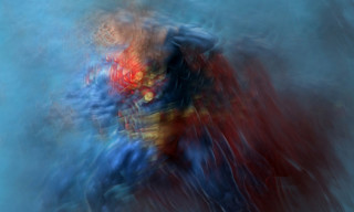 Abstract Superheroes by Samuel Bernard