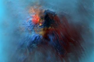 Abstract Superheroes by Samuel Bernard