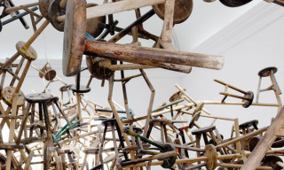 "Ai Weiwei's ""bang"" Installation at Venice Art Biennale 2013"
