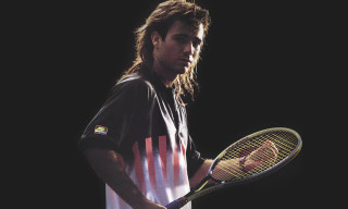 Tennis Icon Andre Agassi Rejoins Nike