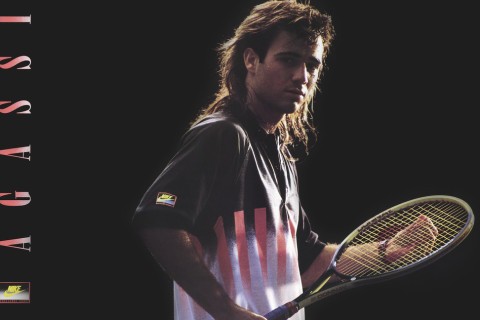 """purchase cheap 29277 d52e1 Nike has announced an exciting new chapter with sports icon Andre Agassi.  The renewed partnership will focus on """"a shared passion for tennis, ..."""