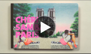 Video: Chéri Samba Illustrates Paris for the Louis Vuitton Travel Books 2013