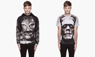 Christopher Kane Fall/Winter 2013 Frankenstein T-Shirt and Creature Hoodie