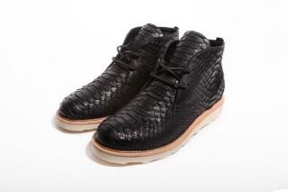 clothsurgeon Genuine Python Skin Chukka Boots and Accessories