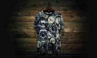 Crooks & Castles Goes All-In with the All-Over Rolex Print T-Shirt and Tank-Top