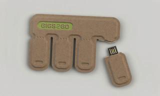 GIGS.2.GO Tear and Share USB Flash Drives