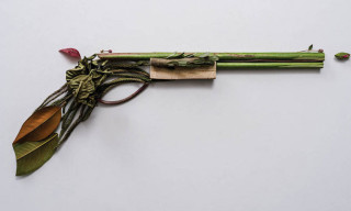 'Harm Less' Weapons Made from Organic Objects by Sonia Rentsch