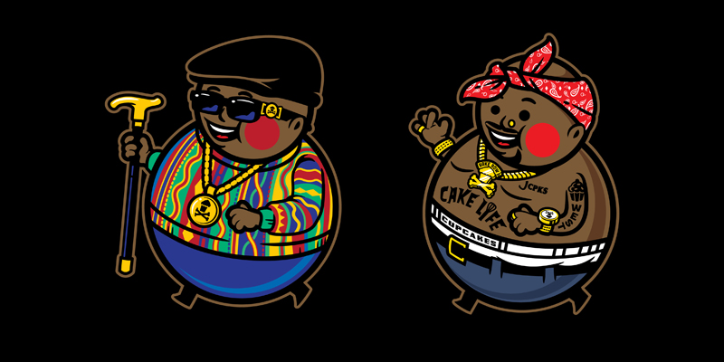 Johnny Cupcakes East Vs West Battle T Shirts Highsnobiety