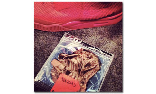 Kanye West Teases the Nike Air Yeezy 2 Red/Red
