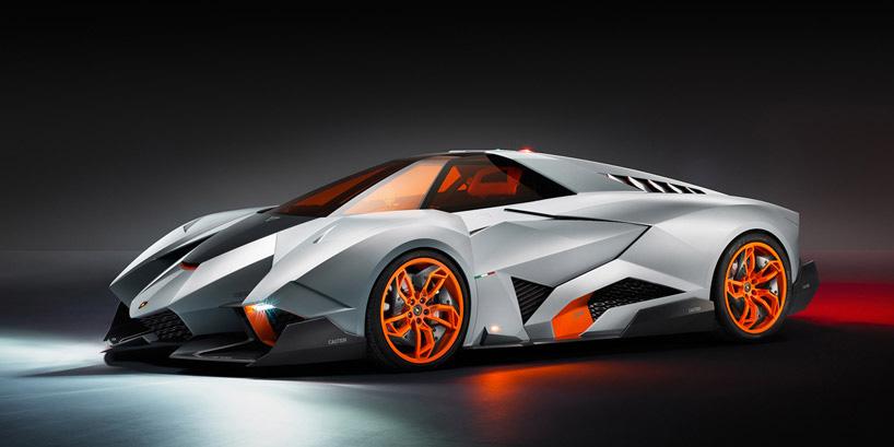 lamborghini egoista concept sports car for 50th anniversary highsnobietycom