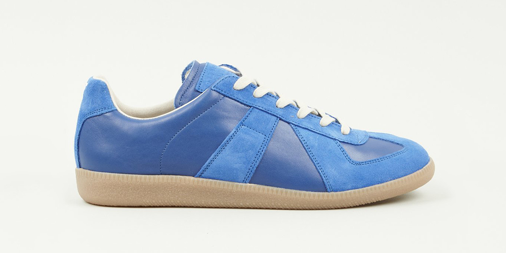 Maison martin margiela 22 blue replica highsnobiety for Replica maison martin margiela