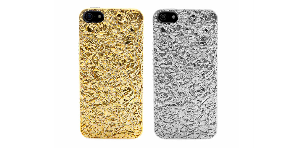 marc by marc jacobs foil covered iphone 5 cases highsnobiety. Black Bedroom Furniture Sets. Home Design Ideas