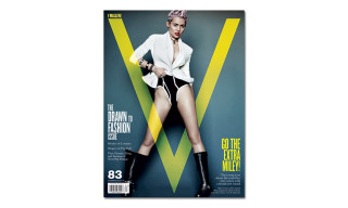 Miley Cyrus Takes Control for the Cover of V Magazine #83
