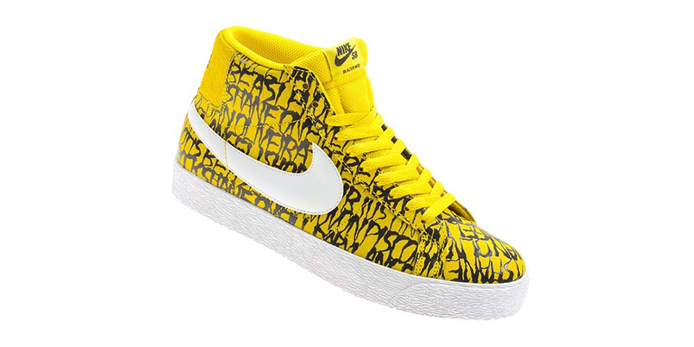 Nike Visage Cou Mi Blazer De Thrasher